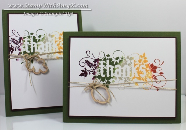 Seasonally Scattered 4 - Stamp With Amy K