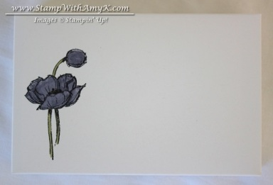 Simply Sketched Note Card Box Front - Stamp With Amy K