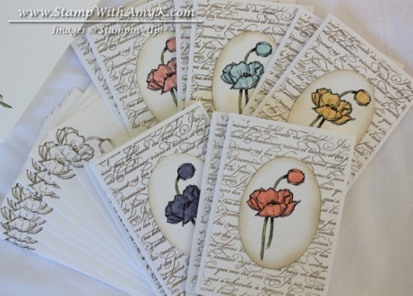 Simply Sketched Note Cards - Stamp With Amy K