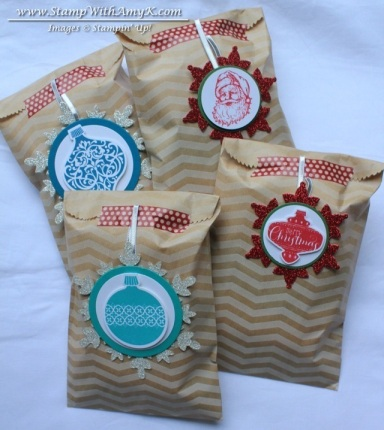 Tag a Bag Gift Bags - Stamp With Amy K