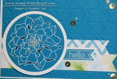 Peaceful Petals 3- Stamp With Amy K