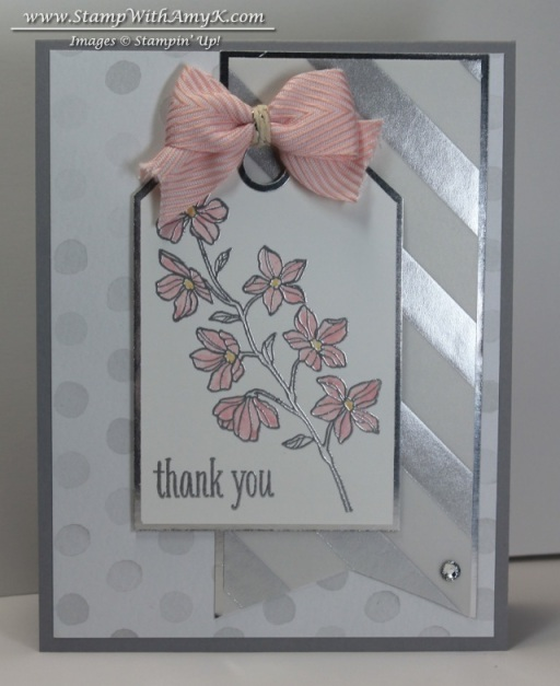 Peaceful Petals - Stamp With Amy K