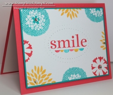 Petal Parade 1 - Stamp With Amy K
