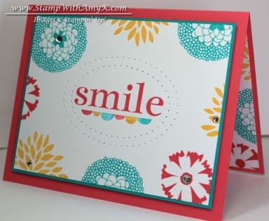 Petal Parade 2 - Stamp With Amy K