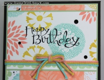 Petal Parade 3 - Stamp With Amy K