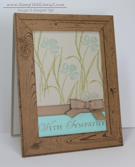 Love & Sympathy 1 - Stamp With Amy K