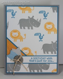 Zoo Babies - Stamp With Amy K