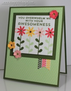 Flower Patch 2 - Stamp With Amy K