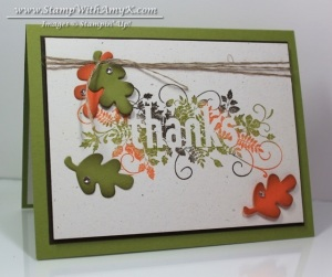 Seasonally Scattered 2 - Stamp With Amy K