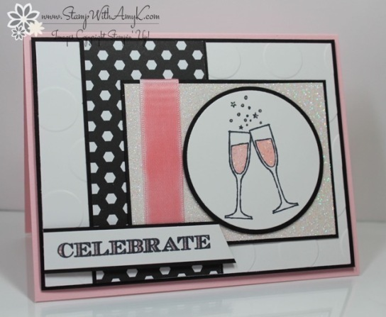 Making Spirits Bright - Stamp With Amy K