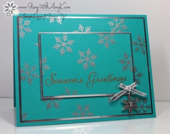 Watercolor Winter Too - Stamp With Amy K
