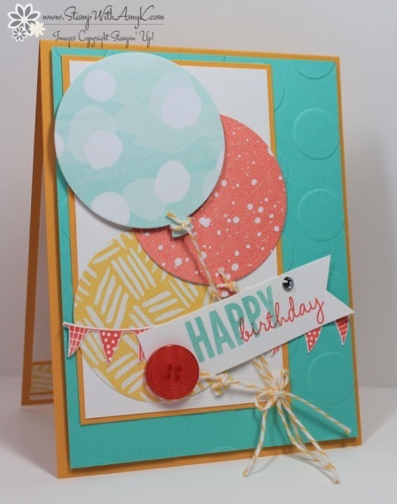 Celebrate Today - Stamp With Amy K