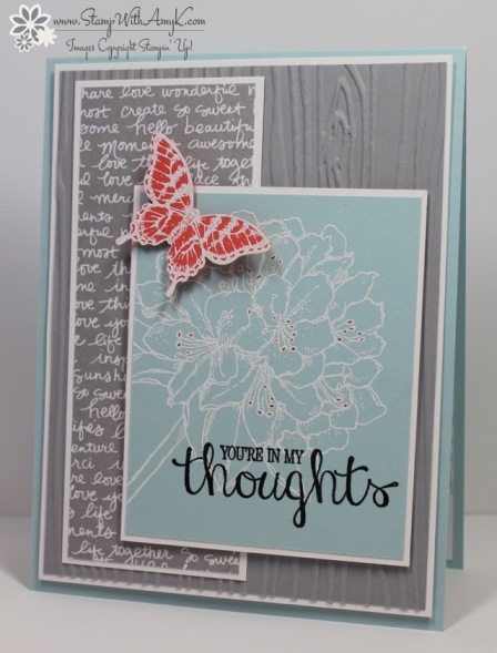 Best Thoughts - Stamp With Amy K