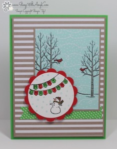 White Christmas 2 - Stamp With Amy K