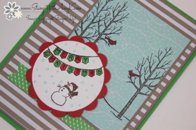 White Christmas 3 - Stamp With Amy K