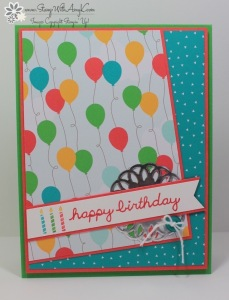 Sprinkles on Top 2 - Stamp With Amy K