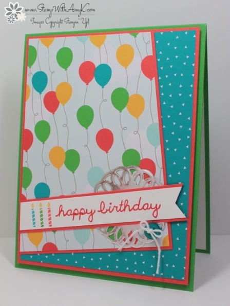 Sprinkles on Top - Stamp With Amy K