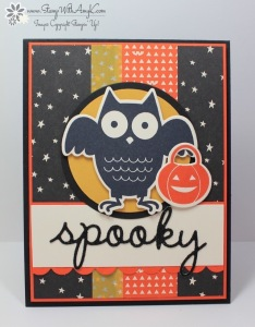 Howl-o-ween Treat 2 - Stamp With Amy K