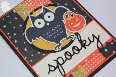 Howl-o-ween Treat 3 - Stamp With Amy K