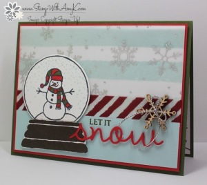 Sparkly Seasons 1 - Stamp With Amy K