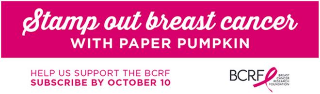 Paper Pumpkin BCRF