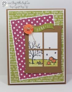 Happy Scenes 1 - Stamp With Amy K