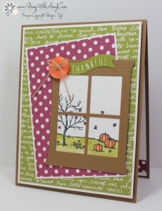 Happy Scenes 2 - Stamp With Amy K