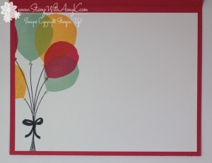 Balloon Celebration 4 - Stamp With Amy K