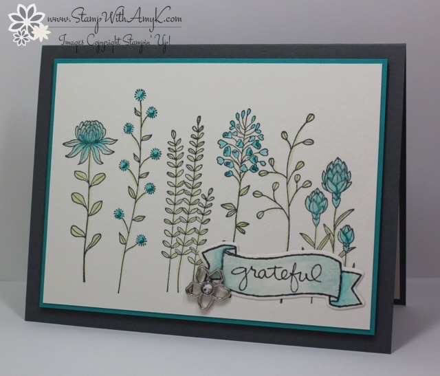 Stampin' Up! Flowering Fields for Sunday Stamps – Stamp ...