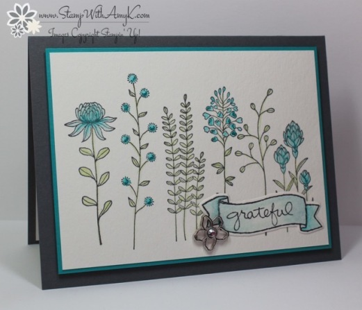Stampin' Up! Flowering Fields for Sunday Stamps | Stamp ...
