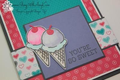 Honeycomb Happiness 3 - Stamp With Amy K