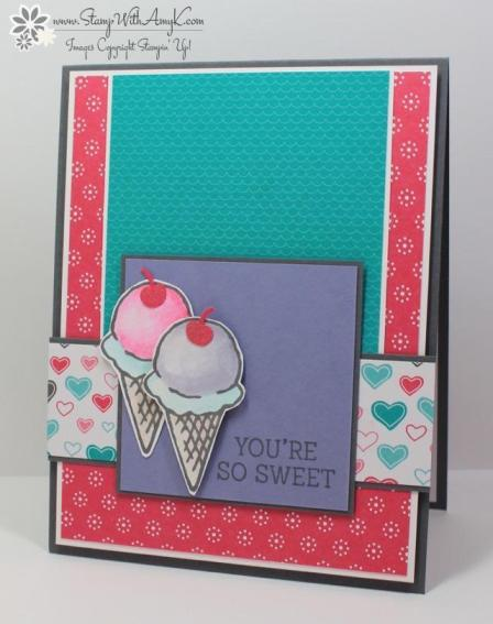 Honeycomb Happiness - Stamp With Amy K