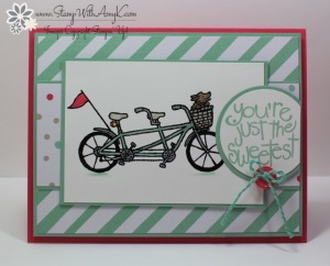 Pedal Pusher 1 - Stamp With Amy K