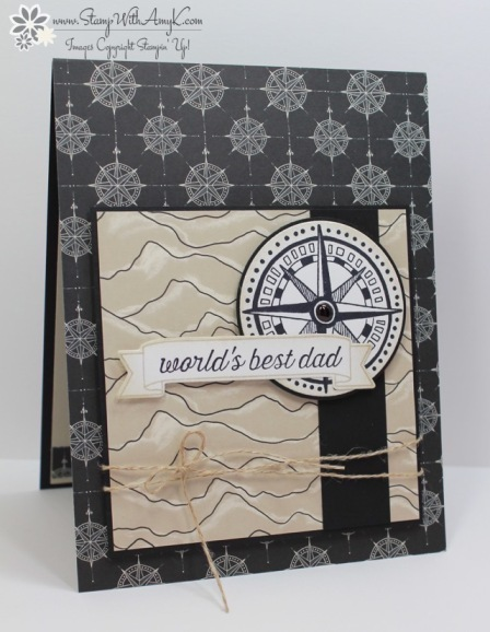 Going Global - Stamp With Amy K