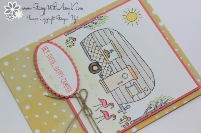 Glamper Greetings 3 - Stamp With Amy K