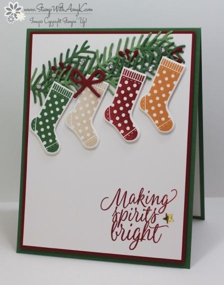 Hang Your Stocking - Stamp With Amy K