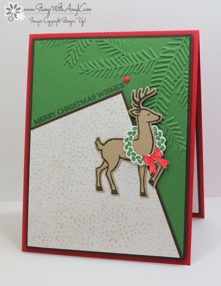 Santa's Sleigh - Stamp With Amy K