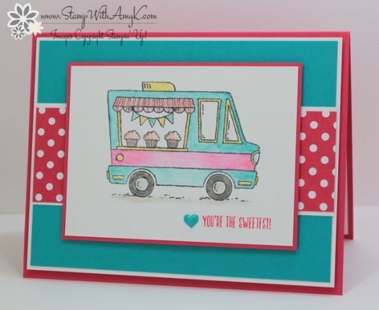 Stampin Up Hey Chick And Tasty Trucks For The Control