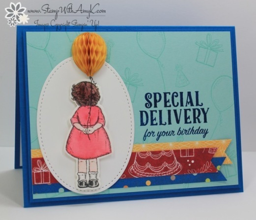 Stampin' Up! Birthday Cards For The Stamp To Share International Blog Hop